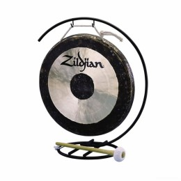 Zildjian 12` Traditional Gong and Stand Set Гонг